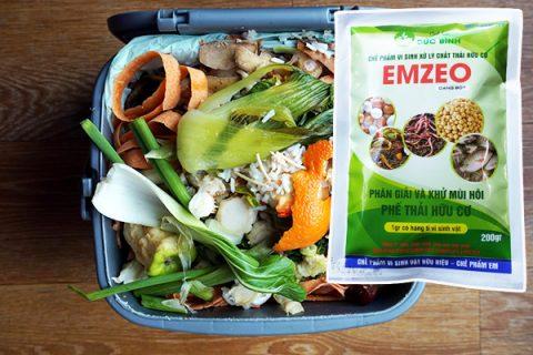 Cách khử mùi hôi rác thải, phân thải bằng chế phẩm khử mùi Emzeo hiệu quả nhất hiện nay