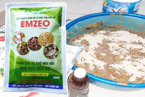 Cách làm dịch đạm đậu tương tốt nhất là sử dụng chế phẩm emzeo vừa ủ vừa khử mùi hôi