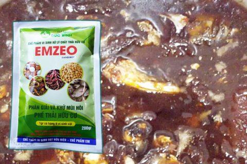 Cách ủ phân cá bằng chế phẩm Emzeo