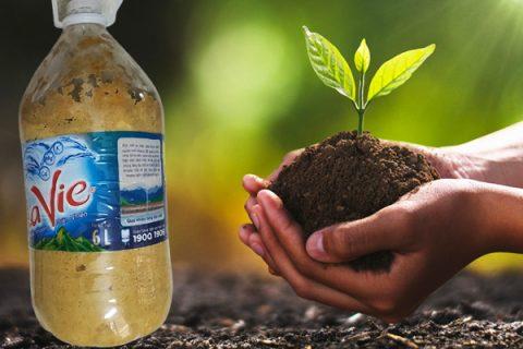 Đạm đậu tương tưới cây giúp cây xanh tốt quanh năm