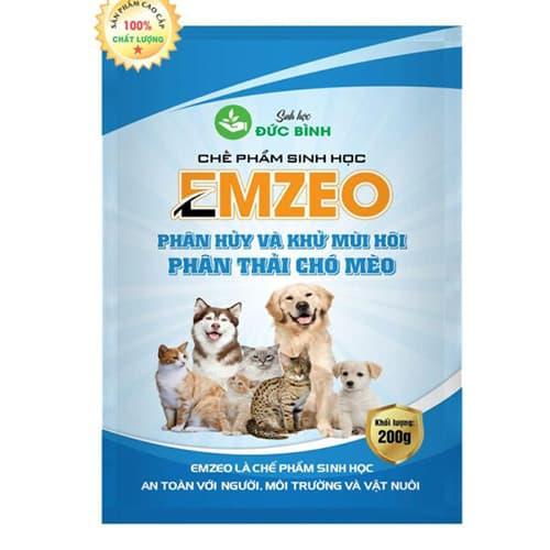 Khử mùi hôi chó mèo EMZEO