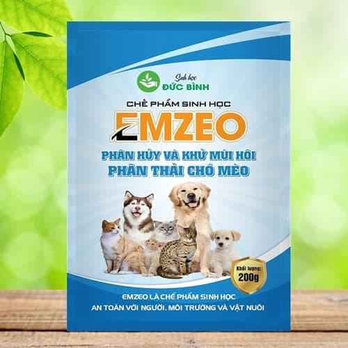 Khử mùi hôi phân thải chó mèo và thú cưng Emzeo chính hãng