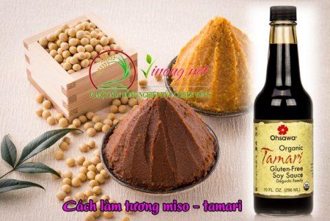 Tương miso và Tamari sử dụng trộn trực tiếp vào cơm hoặc có thể làm nước chấm, gia vị …
