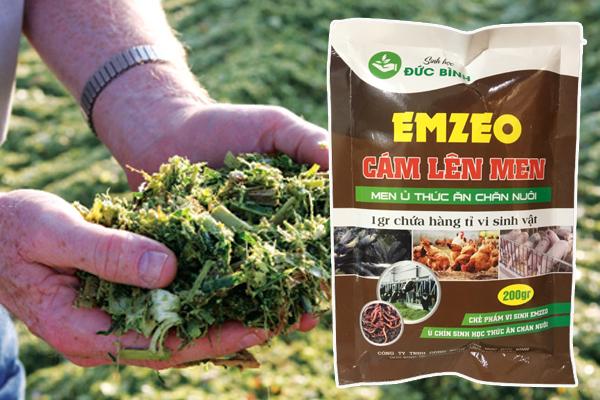Cách sử dụng sản phẩm sau khi ủ cho vật nuôi ăn rất đơn giản mà hiệu quả cao