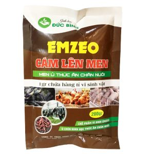 Men ủ thức ăn chăn nuôi cám lên men emzeo