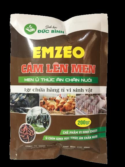 Cám lên men emzeo - Men ủ thức ăn chăn nuôi sử dụng để làm thức ăn nuôi cá